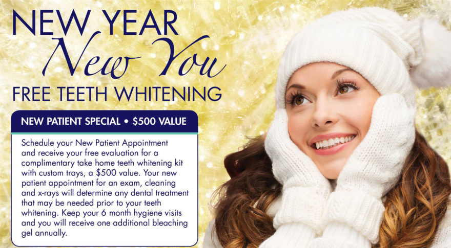 Start the Year with Free Teeth Whitening